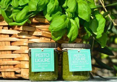 Pesto Cuvea mit basilikum genovese d.o.p.